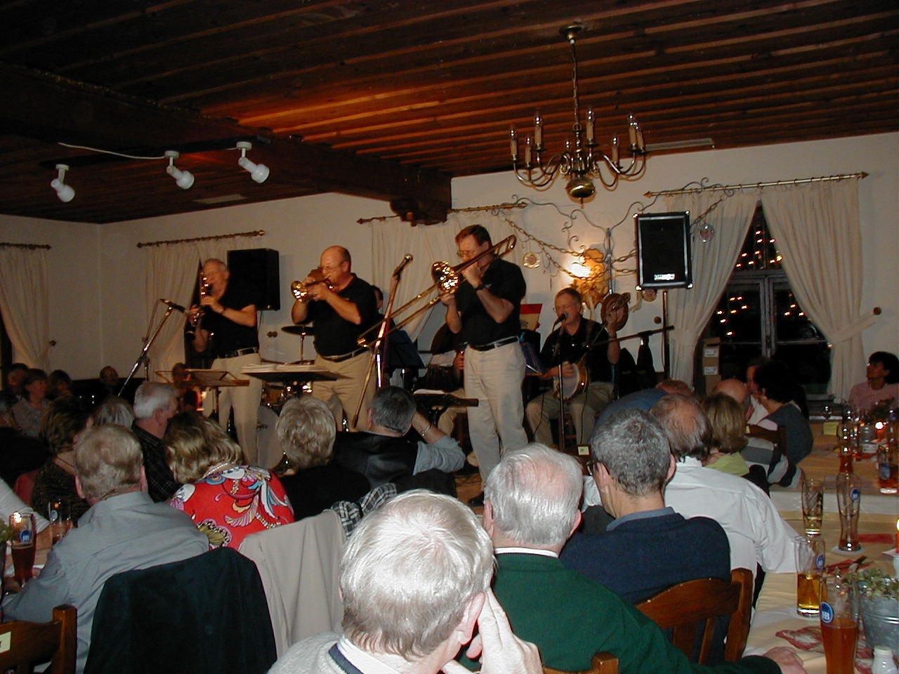 Canamger on stage at Gasthof Bock